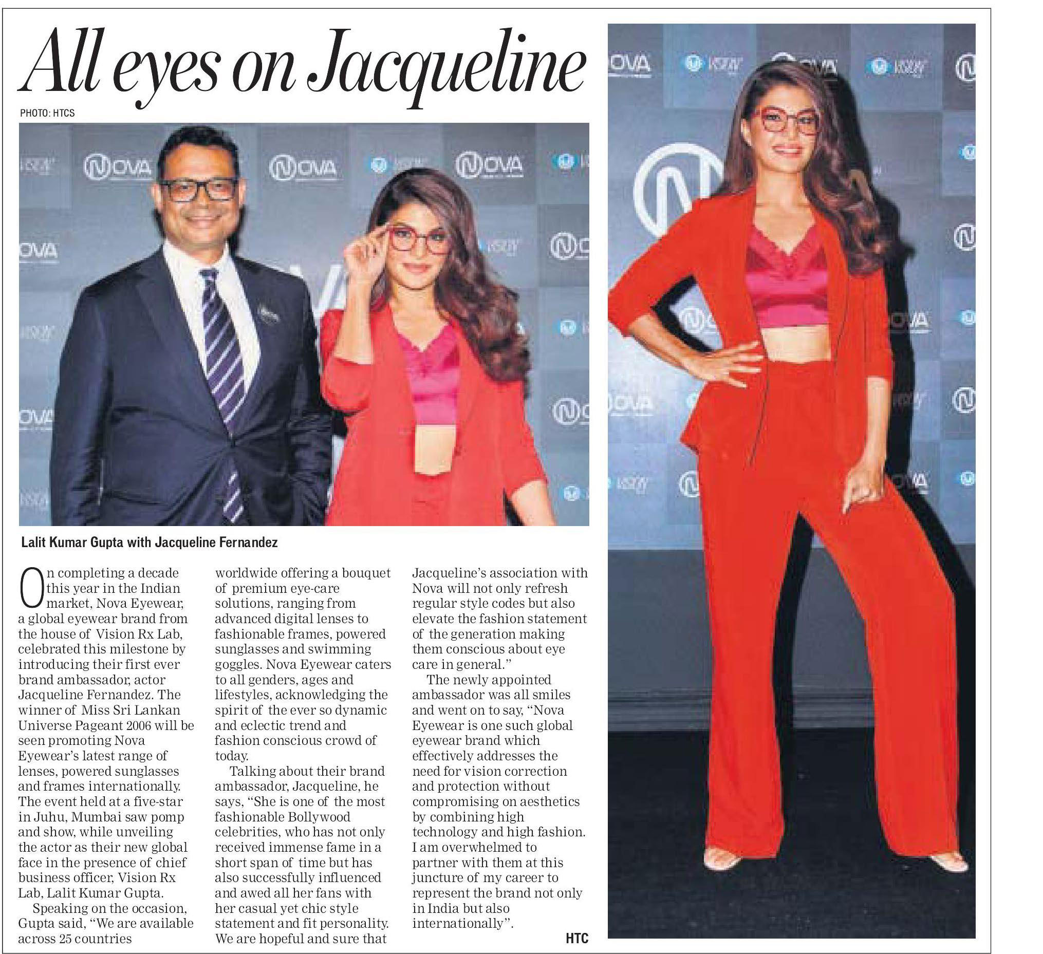 All eyes on Jacqueline